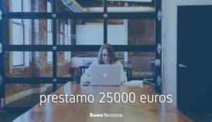 prestamo 25000 euros