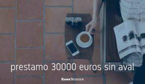 prestamo 30000 euros sin aval