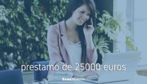 prestamo de 25000 euros