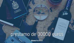 prestamo de 30000 euros