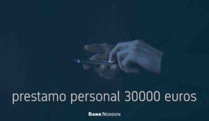 prestamo personal 30000 euros