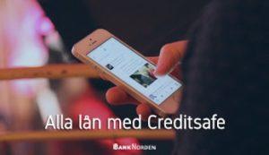 Alla lån med Creditsafe