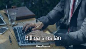 Billiga sms lån