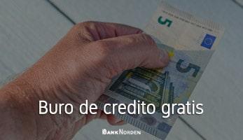 Buro de credito gratis