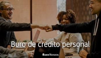 Buro de credito personal