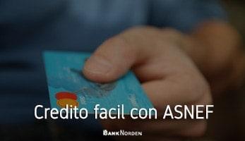 Credito facil con ASNEF