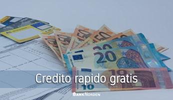 Credito rapido gratis