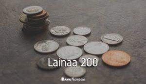 Lainaa 200