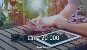 Låna 20 000