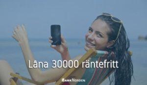 Låna 30000 räntefritt