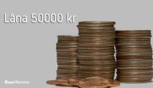 Låna 50000 kr