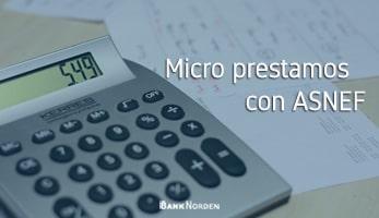 Micro prestamos con ASNEF