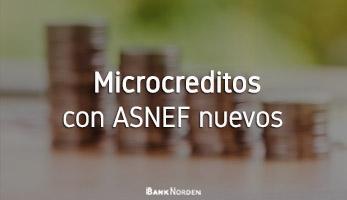 Microcreditos con ASNEF nuevos