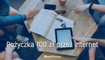 Pożyczka 100 zł przez internet