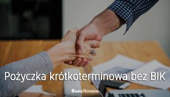 Pożyczka krótkoterminowa bez BIK