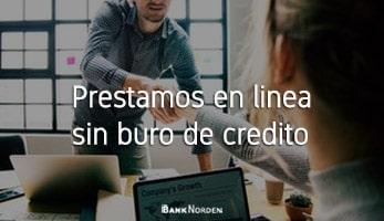 Prestamos en linea sin buro de credito