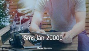 Sms lån 20000