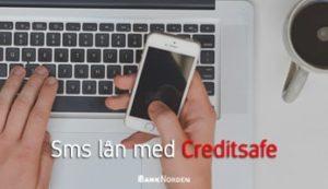 Sms lån med Creditsafe