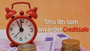 Sms lån som använder Creditsafe