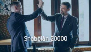 Snabblån 20000