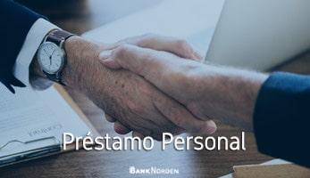 préstamo personal