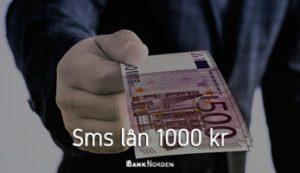 sms lån 1000 kr