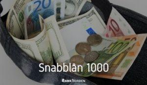 snabblån 1000