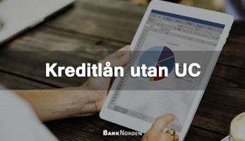 Kreditlån utan UC