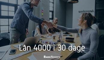 Lån 4000 i 30 dage