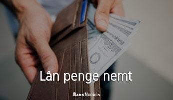 Lån penge nemt