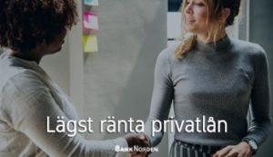 Lägst ränta privatlån