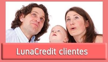 LunaCredit clientes