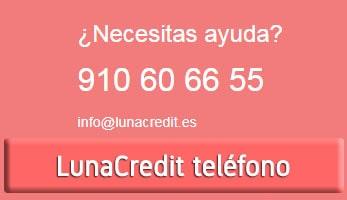 LunaCredit teléfono