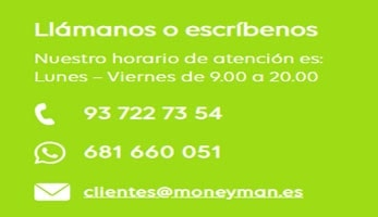 MONEYMAN teléfono