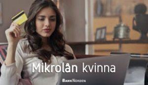 Mikrolån kvinna