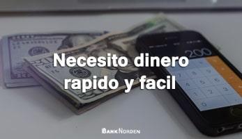 Necesito dinero rapido y facil