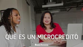 Que es un microcredito