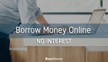 borrow money online no interest