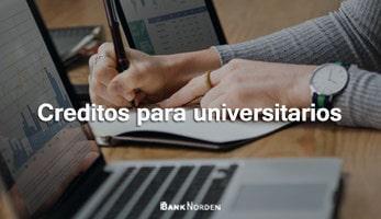 Creditos para universitarios