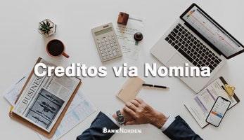 Creditos via Nomina