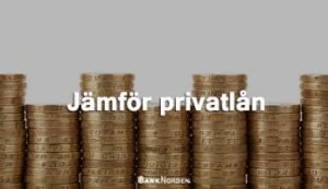 Jämför privatlån