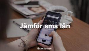 Jämför sms lån