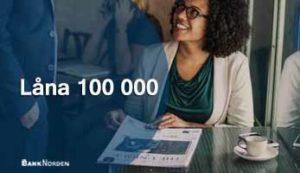 Låna 100 000