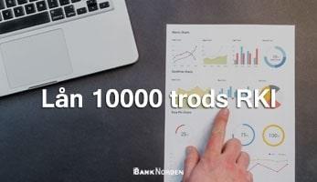 Lån 10000 trods RKI