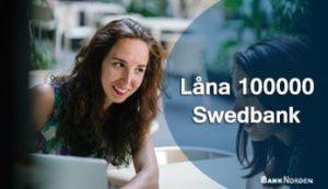 Låna 100000 Swedbank