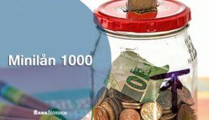 Minilån 1000