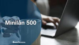 Minilån 500