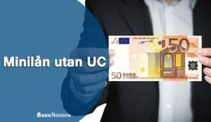 Minilån utan UC