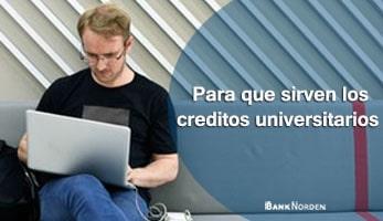 Para que sirven los creditos universitarios