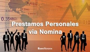 Prestamos Personales via Nomina